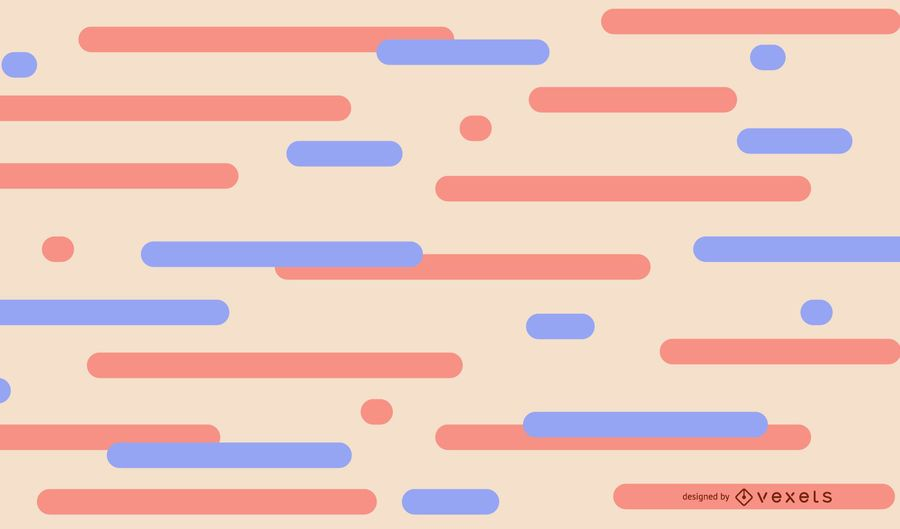 Pastel lines abstract background