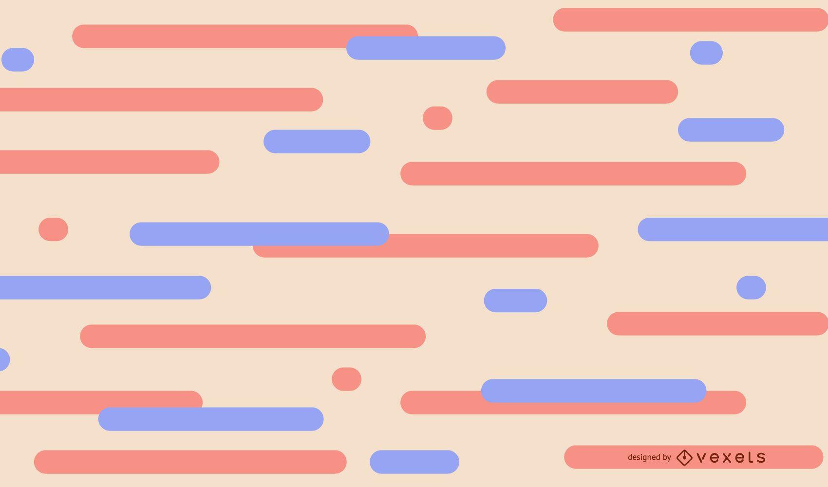 Fondo abstracto de líneas pastel