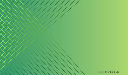 Green gradient lines background design