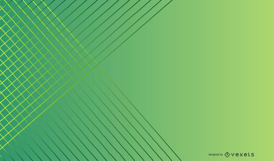 Green gradient lines background design