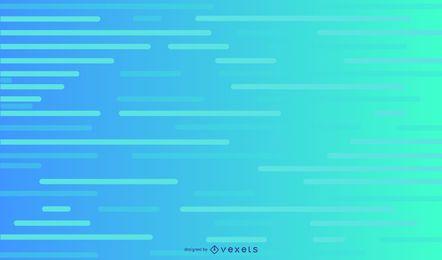 Design de fundo de linhas azuis claras