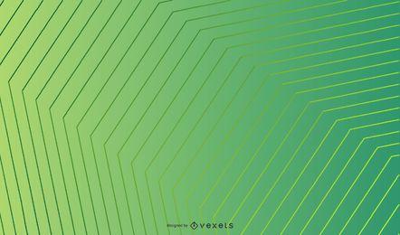 Abstrakter geometrischer Lindgrün-Hintergrund