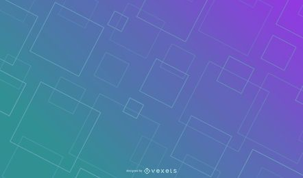 Line squares gradient background design