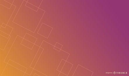 Diseño de fondo degradado de cuadrados finos