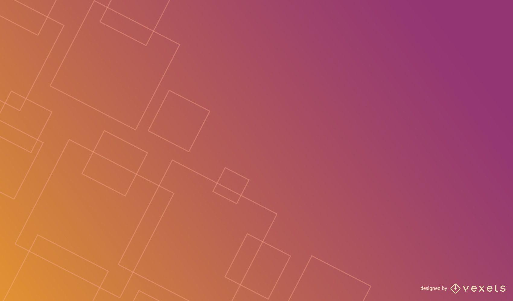 Thin squares gradient background design