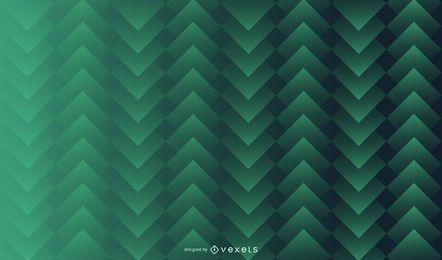 Design de plano de fundo padrão quadrado verde