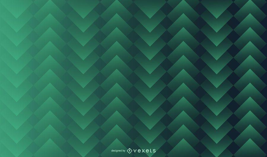 Grünes quadratisches Muster-Hintergrund-Design
