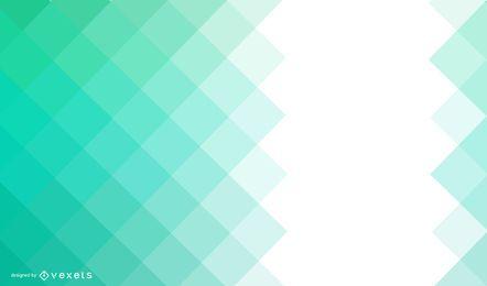 Fondo abstracto cuadrado verde