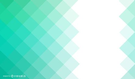 Fondo cuadrado verde abstracto