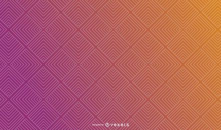Abstraktes Steigungs-Quadrat-Hintergrund-Design