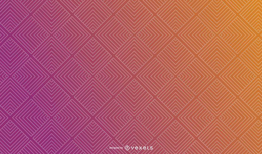 Design de fundo quadrado gradiente abstrato