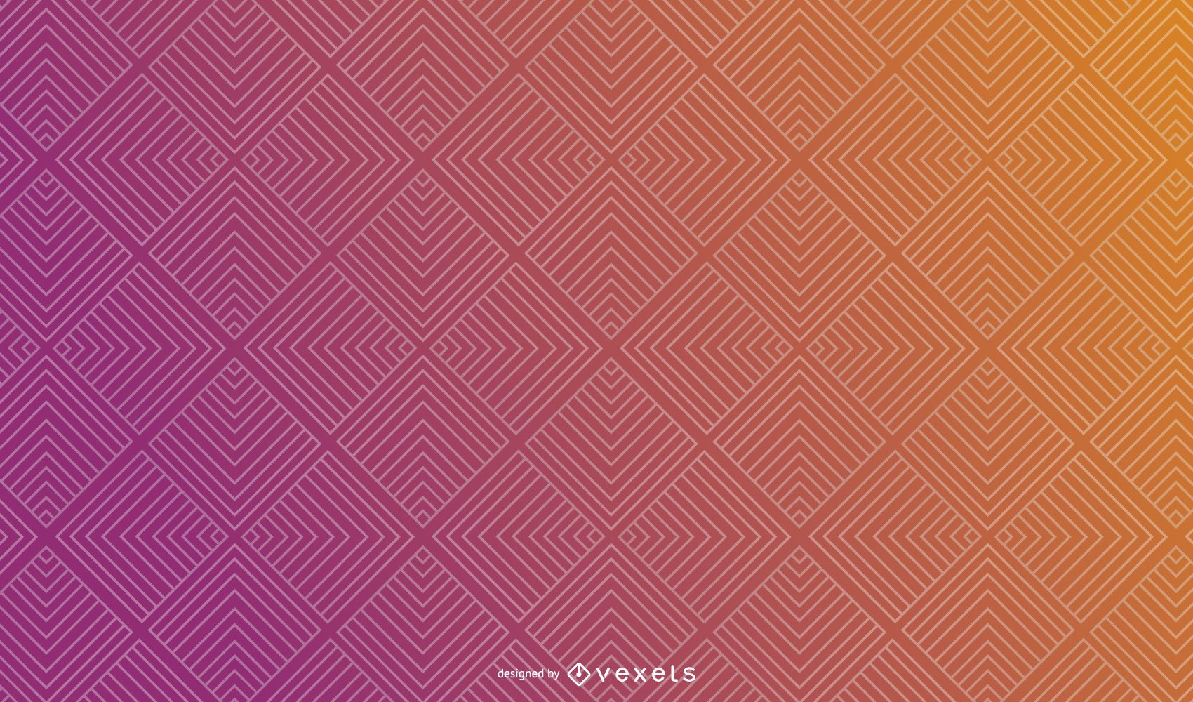 Abstract Gradient Square Background Design