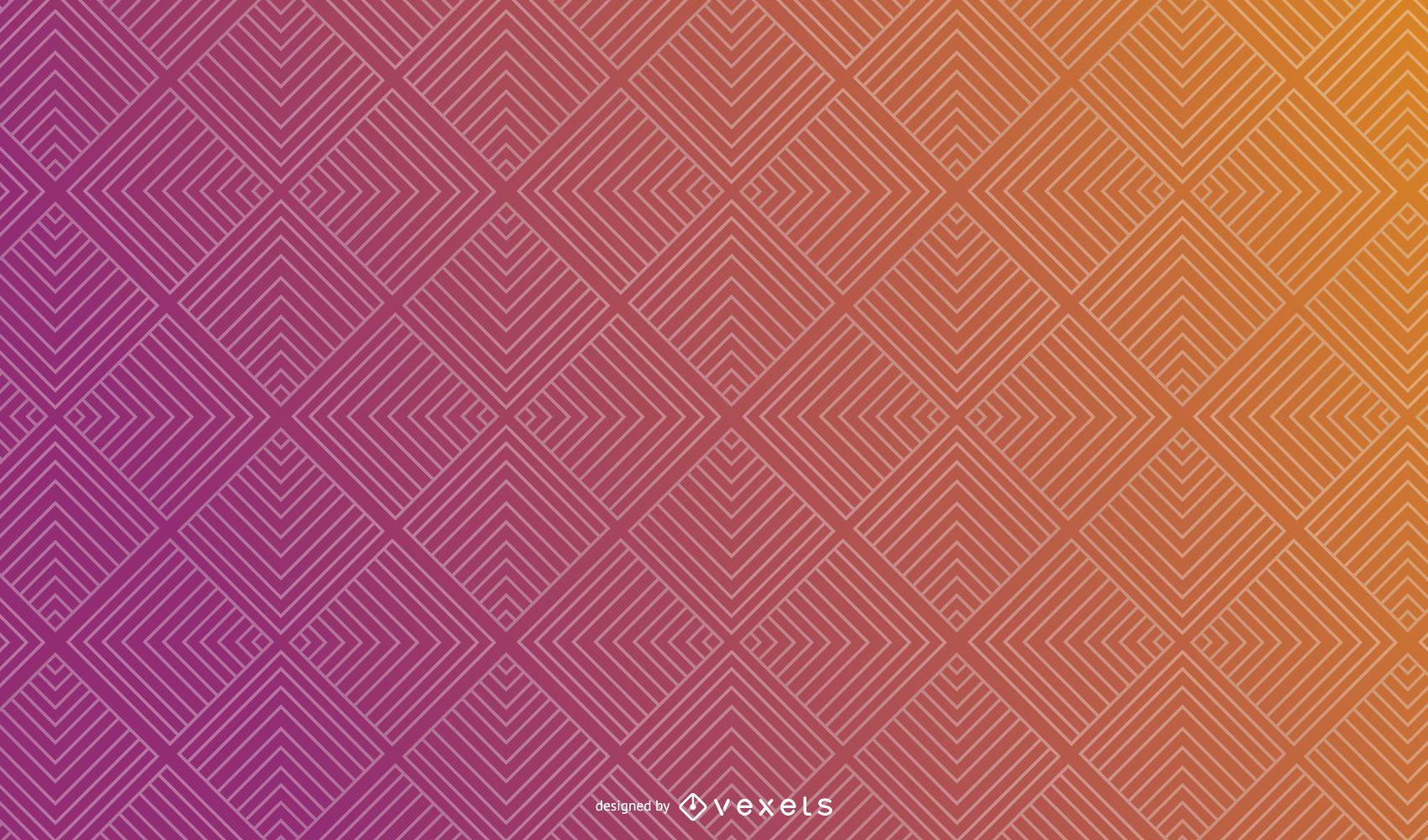 Design de fundo abstrato gradiente quadrado