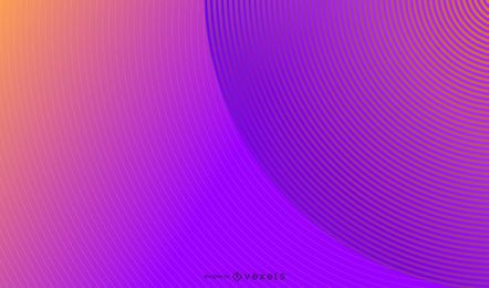 Abstraktes Hintergrunddesign der parallelen Kreise