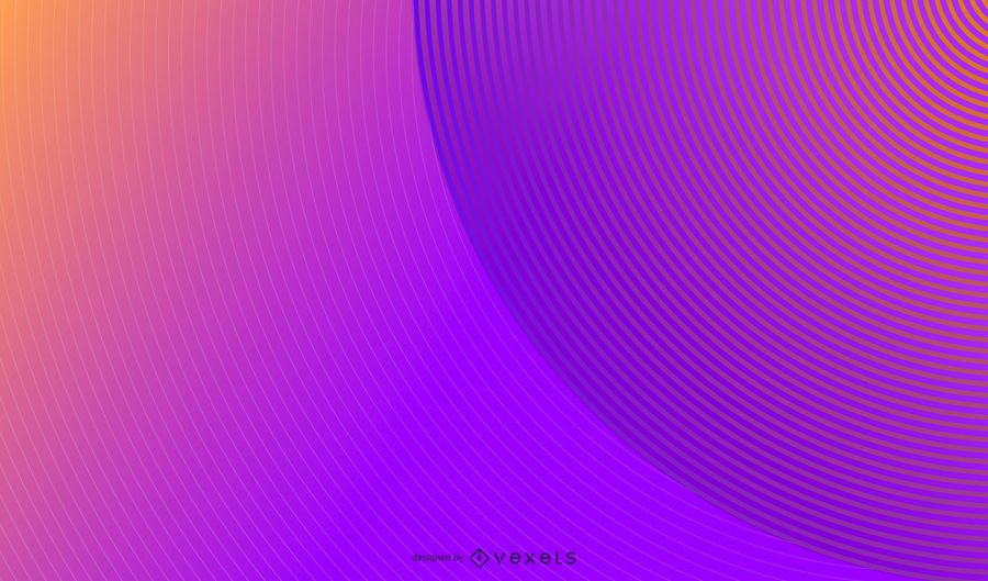 Parallel circles abstract background design