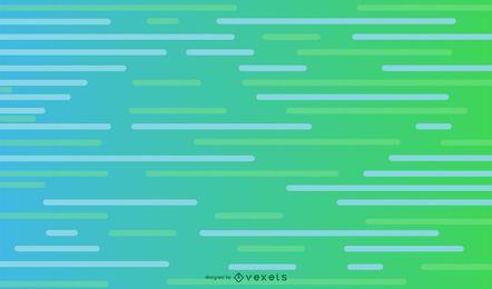 Parallele Linien grünes Hintergrunddesign