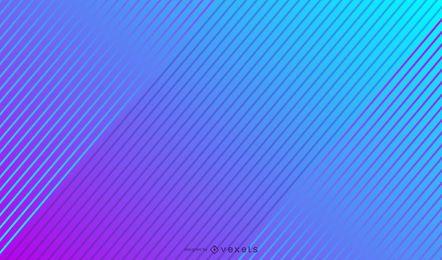 Fundo gradiente de linhas diagonais