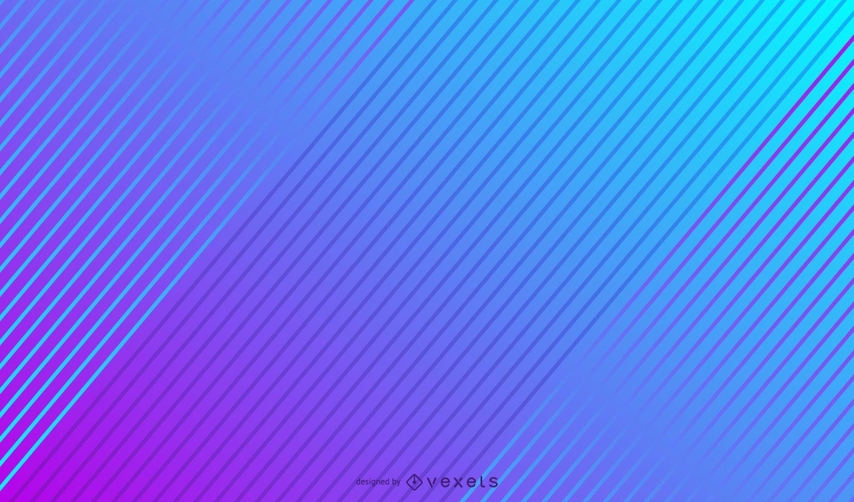 Diagonal lines gradient background