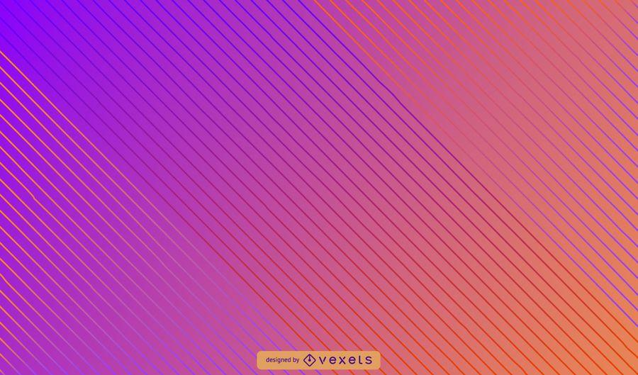 Fondo abstracto de líneas diagonales