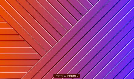 3D striped gradient background