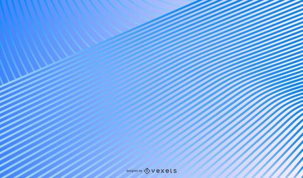 Blue gradient lines background design