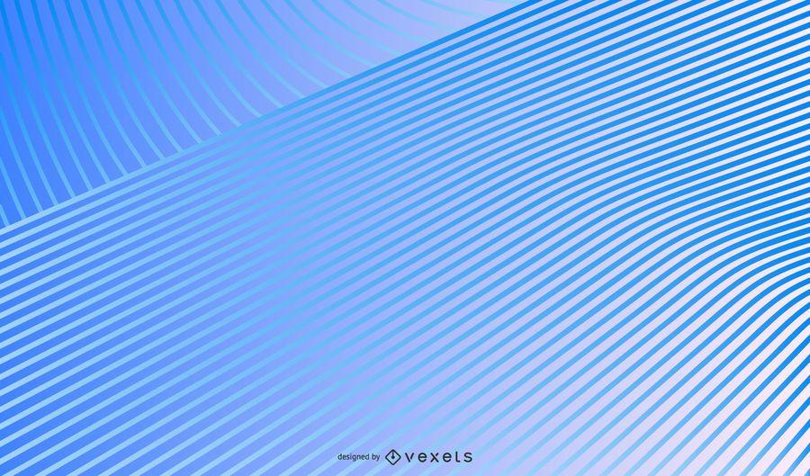 Blue gradient lines background design