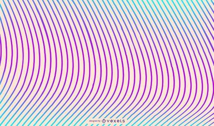 Desenho de fundo de linhas coloridas