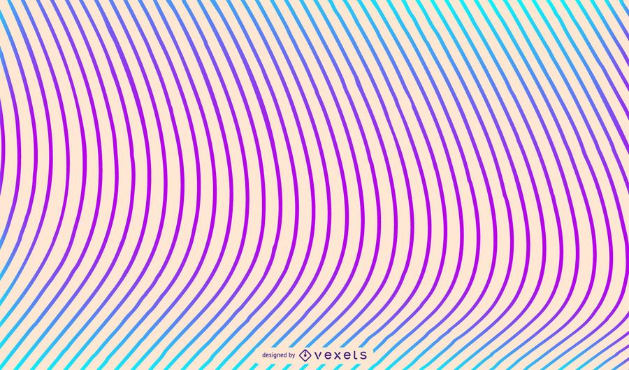 Colored lines background design