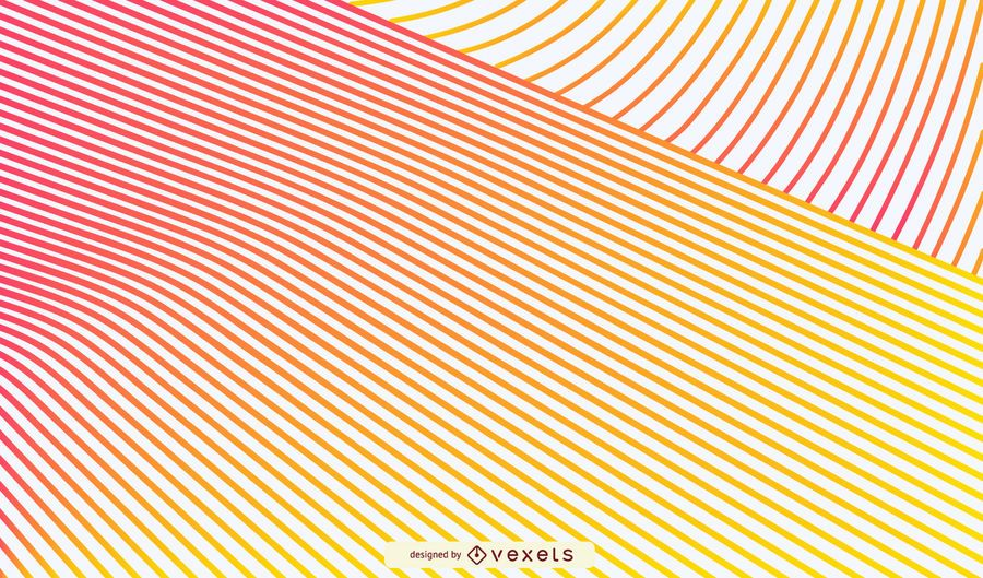 Gradient lines background design