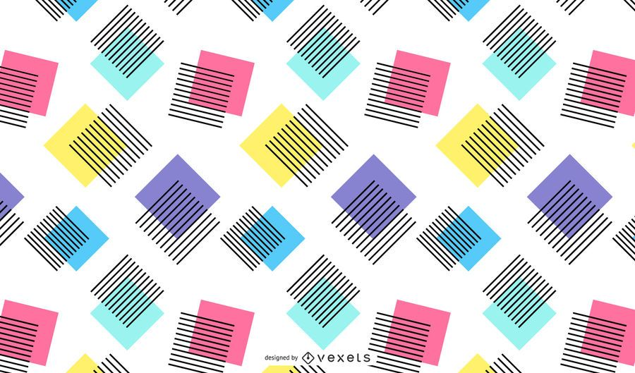 Colorful squares abstract background design