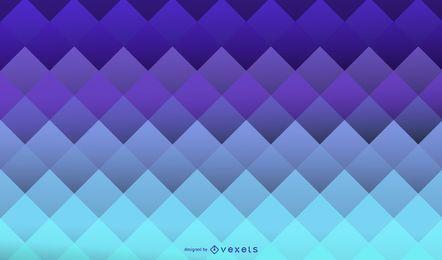 Fundo geométrico de quadrados azuis