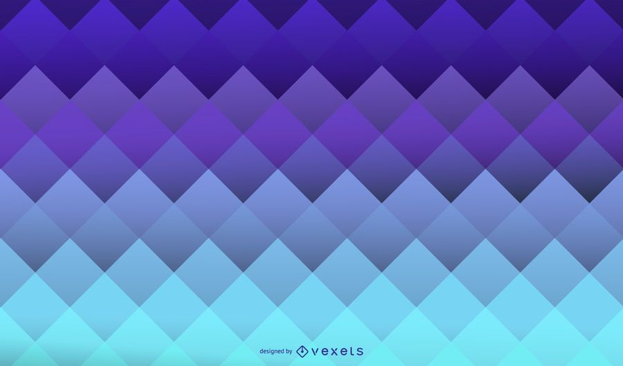 Blue sqares geometric background