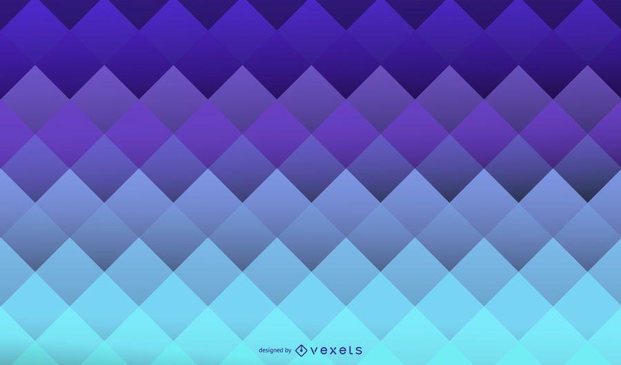 Fondo geométrico cuadrado azul