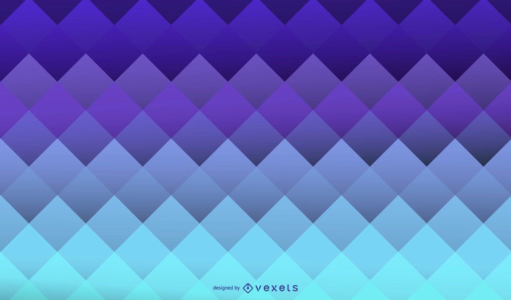 Fondo geométrico azul sqares