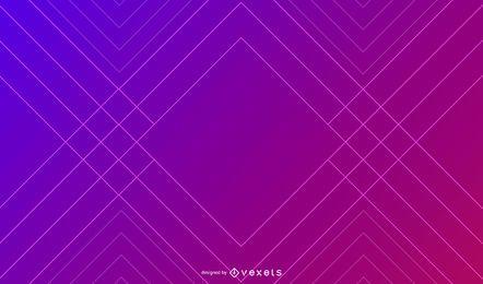 Fondo degradado de líneas geométricas