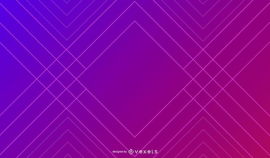 Geometic Linien Hintergrund mit Farbverlauf