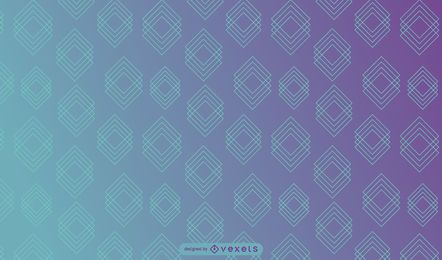 Überlappende Linie quadriert Hintergrund