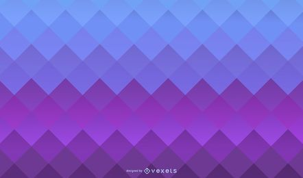 Blue purple squares gradient background