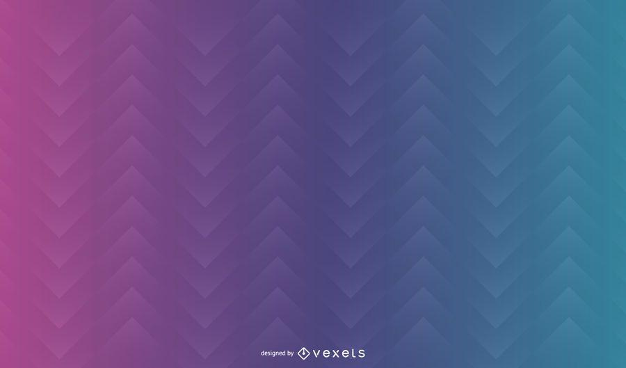 Abstrato em gradiente em zigue-zague