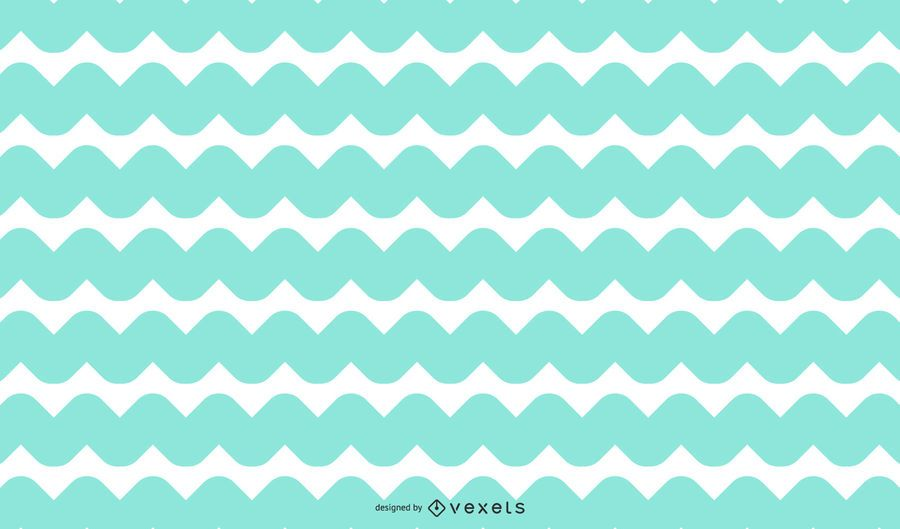 Rounded zig zag background design