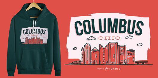 Design de camisetas Columbus Ohio