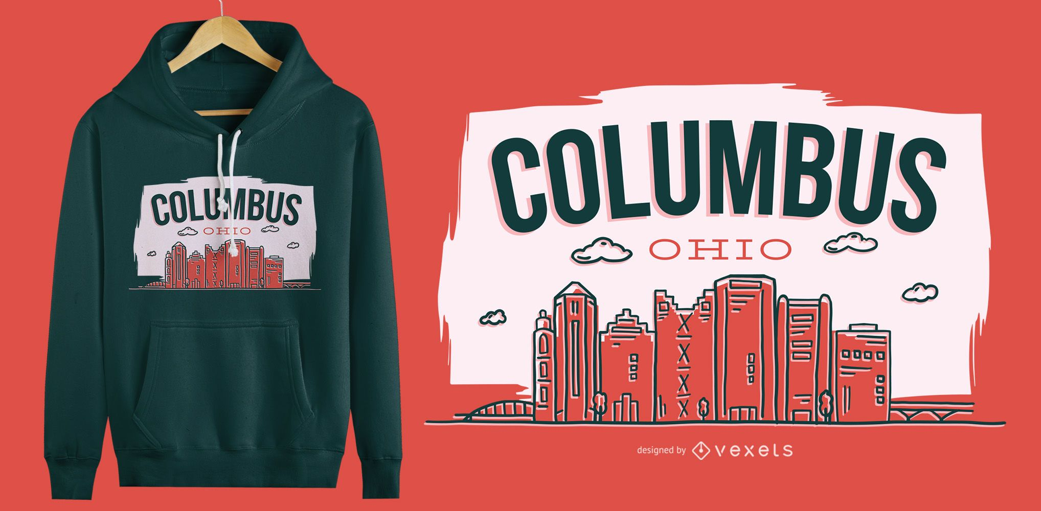 Columbus Ohio T-Shirt Design