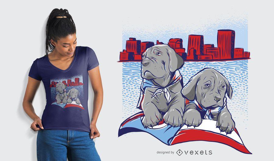 Dayton Skyline T-Shirt Design