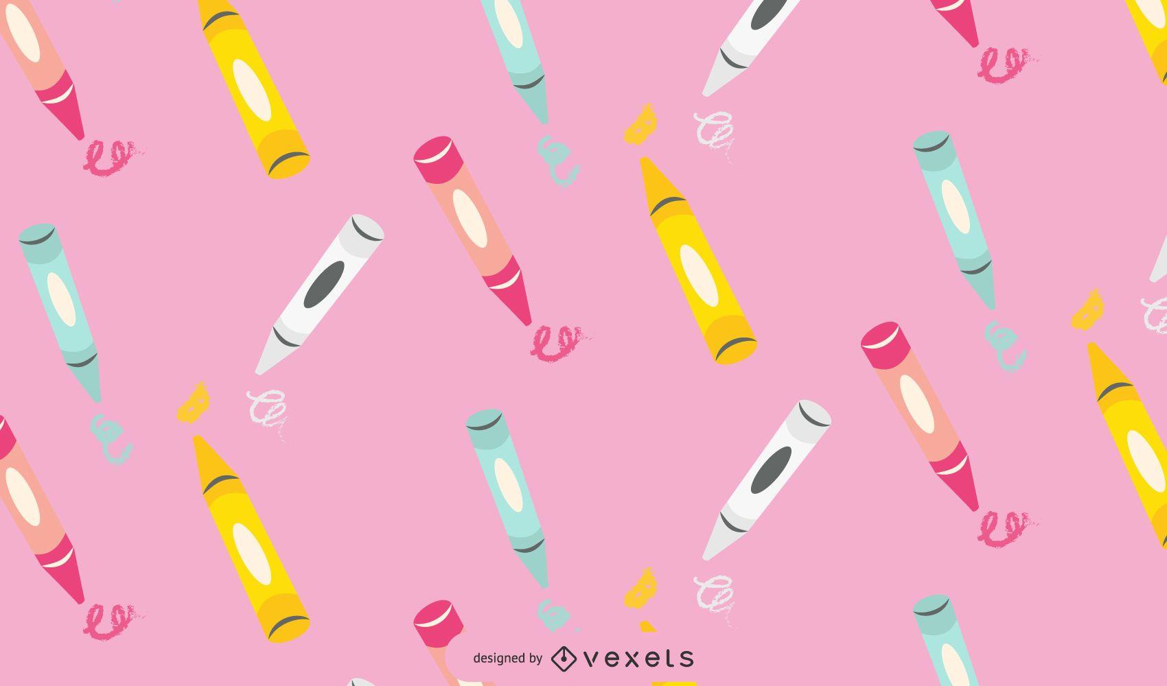 Crayon Pattern Design