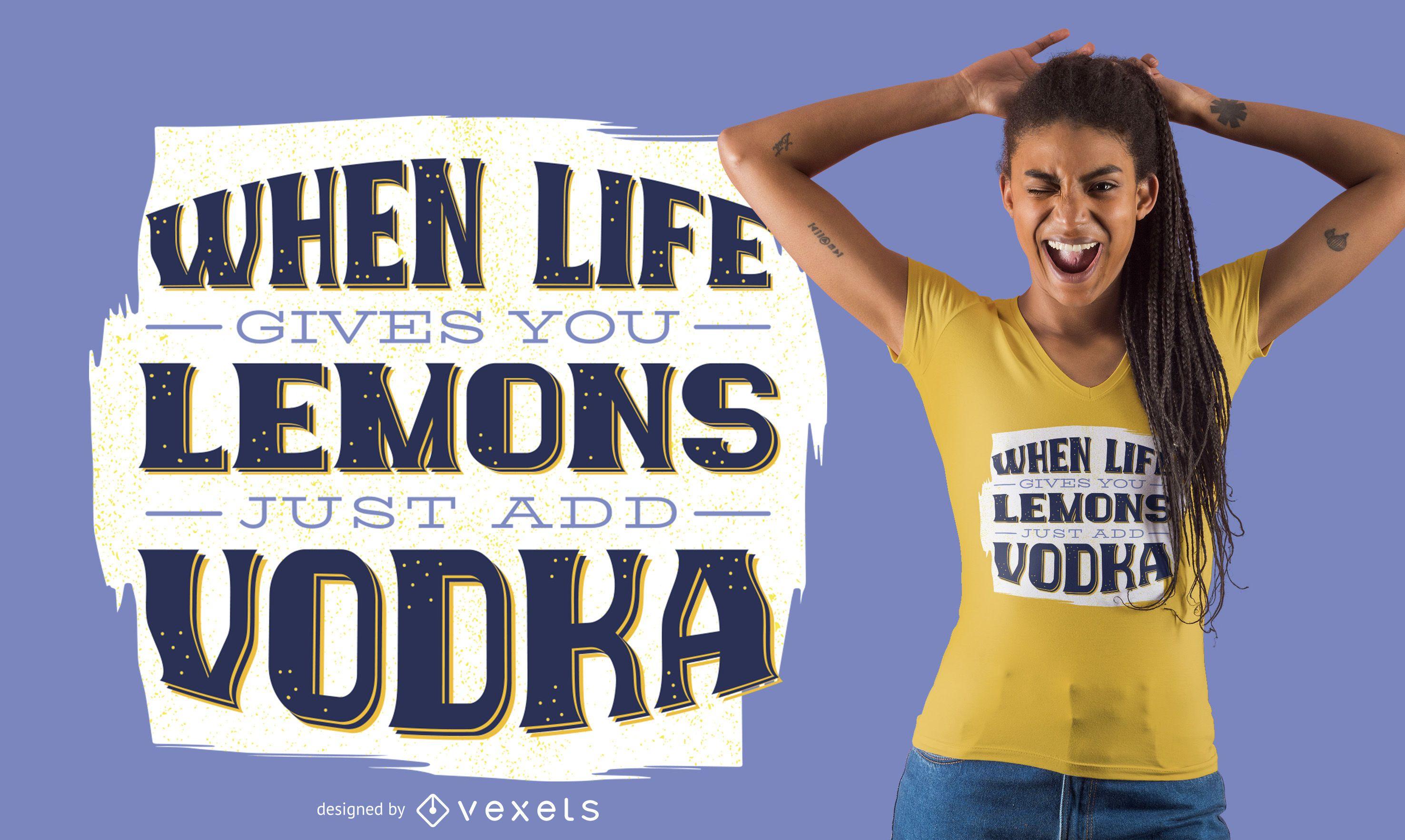 Dise?o de camiseta de letras bebiendo
