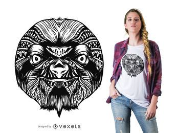 Sloth mandala t-shirt design