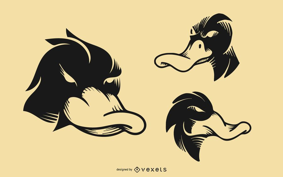 Duck Tattoo Design