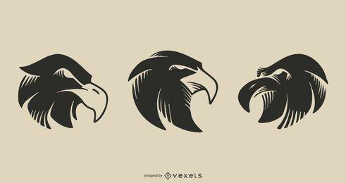 Desenho de tatuagem de águia