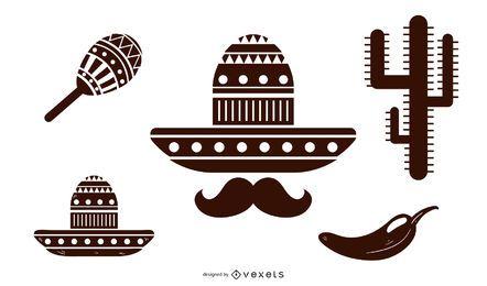 Ícones da cultura mexicana
