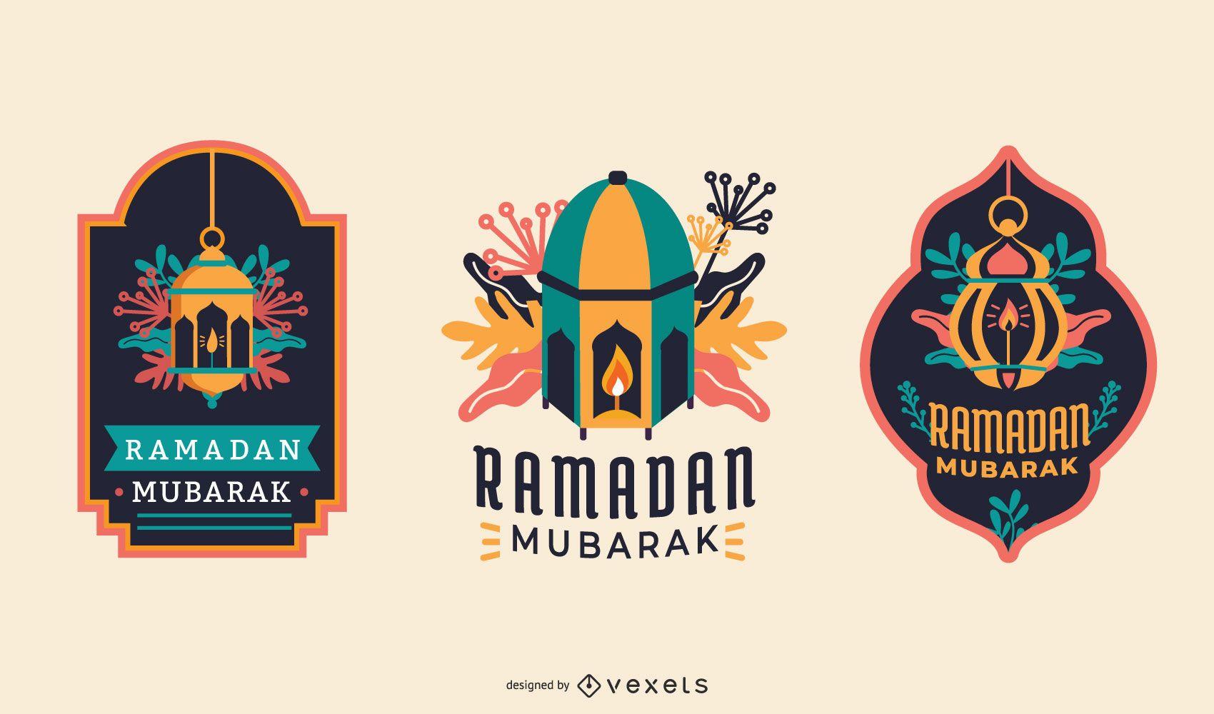 Ramadan Mubarak Stylish Labels
